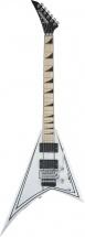 Jackson Guitars X Series Rhoads Rrx24 Mn Snow White With Black Pinstripes