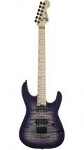 Charvel Pro-mod Dk24 Hh Ht M Qm Maple Fingerboard Purple Phaze