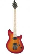 Evh Wolfgang Wg Standard Qm Maple Fingerboard Cherry Sunburst