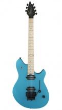 Evh Wolfgang Wg Standard Maple Fingerboard Matte Blue Frost