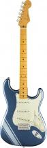 Fender Fsr Traditional 50s Strat Mn Lake Placid Blue With Ice Blue Metallic Stripes