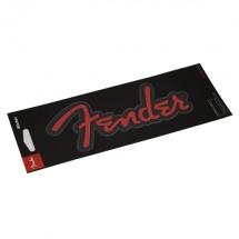 Fender Sticker Rouge Paillete