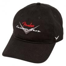 Fender Custom Shop Casquette Noire - Taille Unique - Ajustable