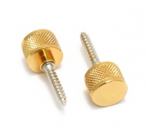 Gretsch Guitars Strap Buttons, Most Gretsch Guitars, With Mounting Hardware, Gold