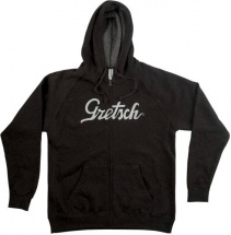 Gretsch Guitars Logo Hoodie Gry L