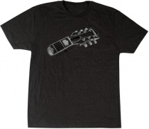 Gretsch Guitars Headstock Tee Gry Xl