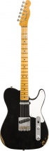 Fender 2019 Limited Roasted Pine Double Esquire Relic Mn Aged Black