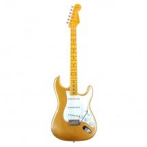 Fender 55 Stratocaster Relic Aged Gold Sparkle + Etui