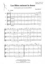 Proust Pascal - Les Flutes Menent La Danse - 4 Flutes