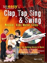 Mccarthy John - Clap, Tap, Sing And Swing - Rockin' Kids Motor Skills + Cd + Dvd - Percussion
