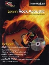 Mccarthy John - Learn Rock Acoustic Intermediate + Cd + Dvd - Guitar