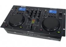 Gemini Double Lecteur Usb/cd Bluetooth à Plat Avec Table De Mixage