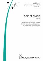 Bonis Mel - Soir Et Matin (1907) - Piano, Violon and Violoncelle