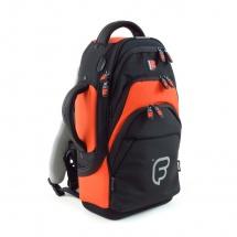 Fusion Bags Housse Cornet Noire Et Orange Pb-01-o
