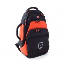 Fusion Bags Housse Bugle Noire Et Orange Pb-02-o
