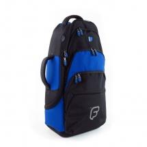 Fusion Bags Housse Cornet Tenor / Alto Noire Et Bleue Pb-03-b