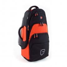 Fusion Bags Housse Cornet Tenor / Alto Noire Et Orange Pb-03-o
