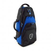 Fusion Bags Housse Trompette Noire Et Bleue Pb-04-b