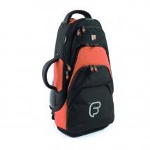 Fusion Bags Housse Trompette Noire Et Orange Pb-04-o