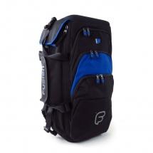 Fusion Bags Housse Triple Trompette Noire Et Bleue Pb-06-b