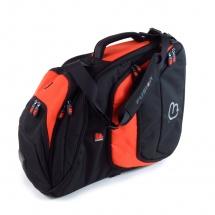 Fusion Bags Housse Cor D\'harmonie Pro (pavillon Fixe) Noire Et Orange Pb-10-o