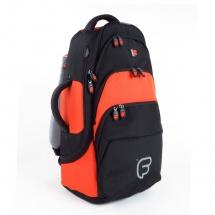 Fusion Bags Housse Cornet Baryton Noire Et Orange Pb-12-o