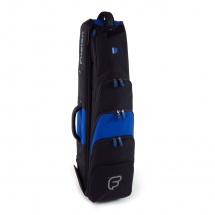 Fusion Bags Housse New Shape Trombone Jazz 8,5 Noire Et Bleue Pb-14-b