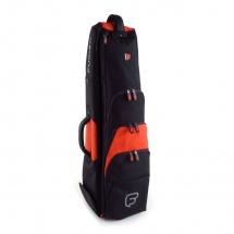 Fusion Bags Housse New Shape Trombone Jazz 8,5 Noire Et Orange Pb-14-o