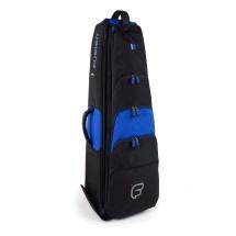 Fusion Bags Housse New Shape Trombone Tenor 9,5 Noire Et Bleue Pb-15-b