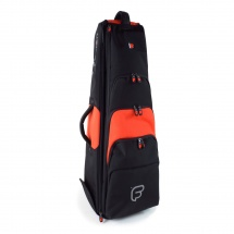 Fusion Bags Housse New Shape Trombone Tenor 9,5 Noire Et Orange Pb-15-o