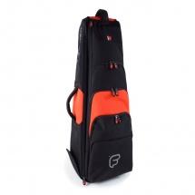 Fusion Bags Housse New Shape Trombone Tenor 9,5 Noire Et Orange Pb-15-o