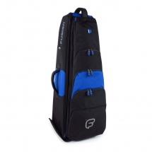 Fusion Bags Housse New Shape Trombone Basse 10,5 Noire Et Bleue Pb-16-b