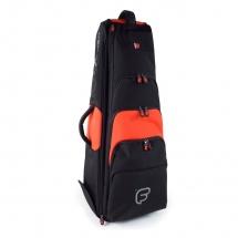 Fusion Bags Housse New Shape Trombone Basse 10,5 Noire Et Orange Pb-16-o