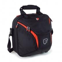 Fusion Bags Housse Cor D\'harmonie (pavillon Detachable) Noire Et Orange Pb-17-o