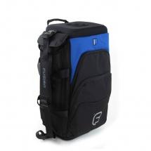 Fusion Bags Housse Triple Trompette Noire Et Bleue Ub-04-b