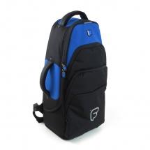 Fusion Bags Housse Cornet Tenor / Alto Noire Et Bleue Ub-05-b