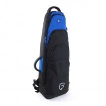 Fusion Bags Housse Old Shape Trombone Tenor 9,5 Noire Et Bleue Ub-07-b