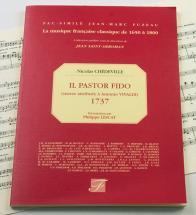 Chedeville N. - Il Pastor Fido, Oeuvre Attribuee à Antonio Vivaldi, 1737 - Fac-simile Fuzeau