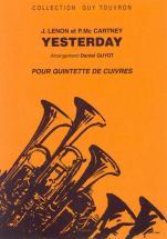 Lennon John/mac Cartney Paul - Yesterday - Quintette Cuivres