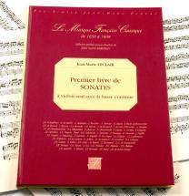 Leclair J.m. - Premier Livre De Sonates A Violon Seul Avec La Basse Continue - Fac-simile Fuzeau