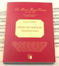 Couperin F. - Pieces De Clavecin, Troisieme Livre - Fac-simile Fuzeau