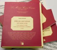 Marais Marin - Pieces De Viole De Gambe, Deuxieme Livre - Fac-simile Fuzeau - Baccalaureat 2012