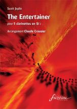 Joplin Scott - The Entertainer (arr.crousier) - 5 Clarinettes