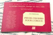 Marchand Louis - Pieces Choisies Pour L'orgue De Feu Le Grand Marchand - Fac-simile Fuzeau