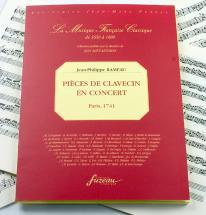 Rameau J.p. - Pieces De Clavecin En Concert - Fac-simile Fuzeau
