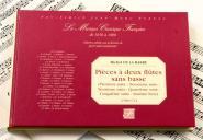 De La Barre M. - Pieces A Deux Flutes Traversieres Sans Basse - Fac-simile Fuzeau