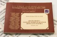 Delalande M.r. - Grand Motet : Laudate Dominum Quoniam Bonus Est Psalmus, Psaume 146 - Fac-simile