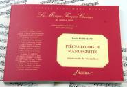 Marchand L. - Pieces D'orgue Manuscrites, Manuscrit De Versailles - Fac-simile Fuzeau