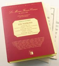 Couperin F. - Les Nations (integrale Des Sources) -  Fac-simile Fuzeau