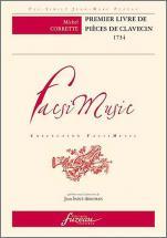 Corrette M. - Premier Livre De Pieces De Clavecin, 1734 - Fac-simile Fuzeau